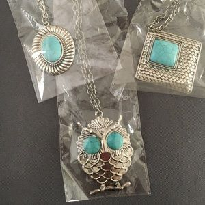 Turquoise Long Necklaces